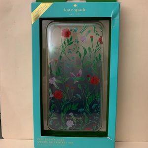 Kate Spade IPhone XS Max case Hummingbird & Flower